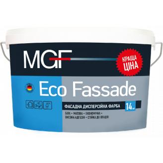 Фарба MGF М690 Eco Fassade 14 кг фасадна