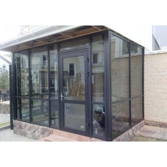 Алюминиевые входные двери SY L45 (850х2050 мм)