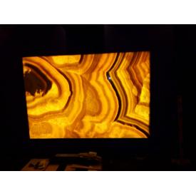 Панно з медового онікса з підсвічуванням 1500х2200х20мм