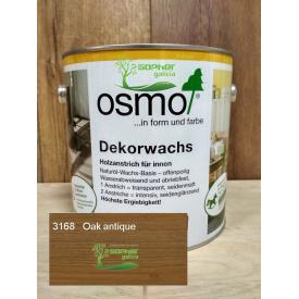 Олія з воском Osmo Decorwachs 2.5 л 3168 Oak Antique Дуб антік