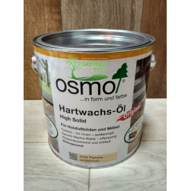 Масло с воском для паркета и деревянных полов OSMO Hardwachs Oil 2.5л 3011 Бесцветный Глянец