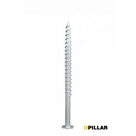 Геошуруп оцинкованный PILLAR 76х3,0х1500мм