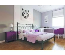 Ліжко металеве Тіффані 120 Метал дизайн
