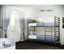 Ліжко двоярусне Маргарита 90 Метал-дизайн металеве