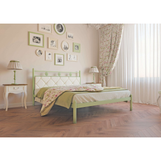 Ліжко металеве Белла 180 Метал дизайн