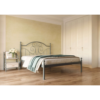 Ліжко металеве Офелія 160 Метал дизайн