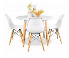 Комплект обеденный стол и стулья SDM Лофт №60-4 для кухни и кафе