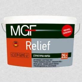 Краска MGF Структурная Relief 15кг