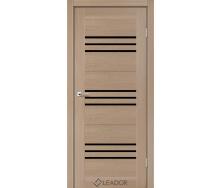 Двери межкомнатные Liberty doors LIGHT Рейс blk 600х2000 мм Дуб янтарный
