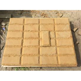 Плитка облицовочная пилено-рустованная гладкая 100х300х20мм