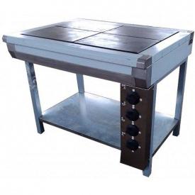 Плита электрическая кухонная с плавной регулировкой мощности ЭПК-4 эталон
