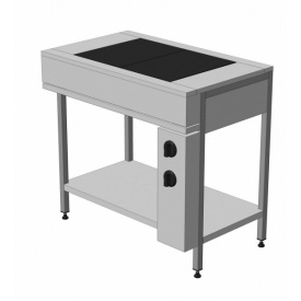 Плита электрическая кухонная с плавной регулировкой мощности ЭПК-2 эталон