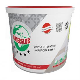 Краска интерьерная акриловая ЭКО + 4,2 кг