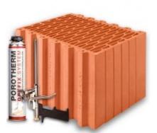 Керамічні блоки Porotherm Klima Dryfix 38