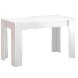 Стол обеденный Виола 120х65 белый глянец + черный мат Миро-Марк