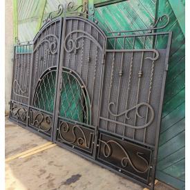 Ворота кованые закрытые Б0033зк Legran