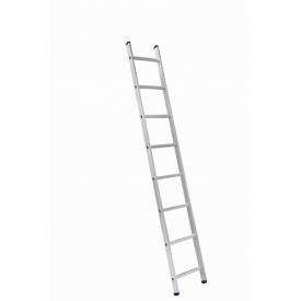 Алюминиевая односекционная приставная лестница на 8 ступеней (универсальная)