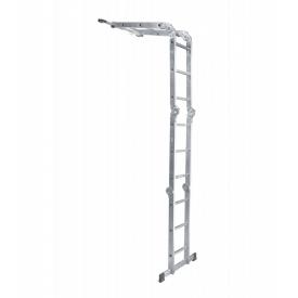 Лестница шарнирная трансформер четырехсекционная 4 х 4 ступени