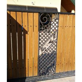 Кованая ограда Пз0015 Legran