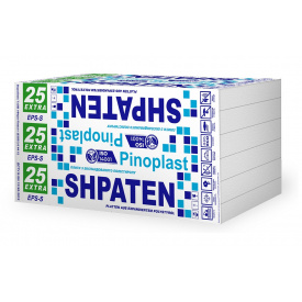 Пенопласт Shpaten 25 extra 100мм супут. мат.
