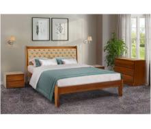 Ліжко дерев`яне Монтана Мікс Меблі 120х200 см