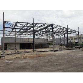 Монтаж металоконструкцій в місті Суми