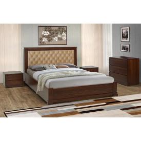 Кровать деревянная Аризона Микс Мебель 140х200 см с подъёмным механизмом
