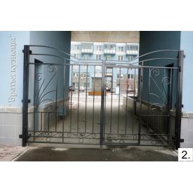 Ворота кованые Метал Сич 1,5x3 м