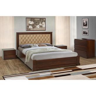 Ліжко дерев`яна Арізона Мікс Меблі 140х200 см з підйомним механізмом