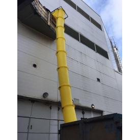 Мусоросброс строительный 5 (м), мусороспуск на стройку Конструктор