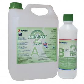 Лак Vermeister Aqua Play-2 (5+0,5 л) полиуретановый на водной основе