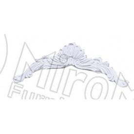 Корона зеркала Луиза белый глянец Миро-Марк