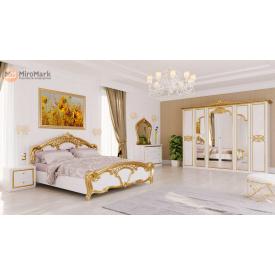 Спальня Ева 6Д белый глянец Миро-Марк