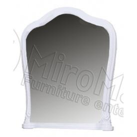 Зеркало Луиза белый глянец Миро-Марк