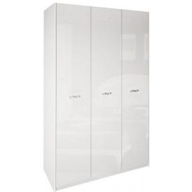 Шкаф Империя 3Д без зеркал белый глянец Миро-Марк