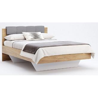 Кровать Рамона 140 лава + дуб крафт Миро-Марк