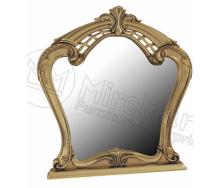 Зеркало Реджина Черная черный глянец + золото Миро-Марк
