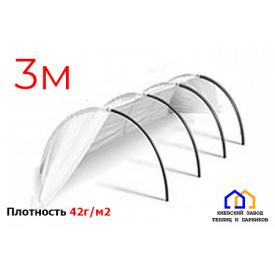 Парник Подснежник агроволокно 42 г/м2 1,2х0,8х3 м