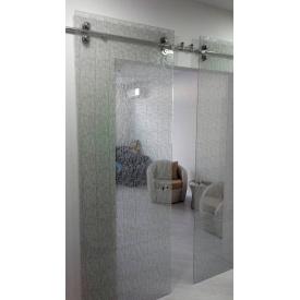 Раздвижные двери закаленное стекло 10 мм