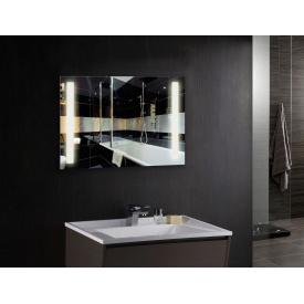 Зеркало с LED подсветкой №ML-02 (900х700х30)