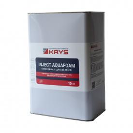 KRYS INJECT AQUAFOAM - 1-компонентная гидрофильная эластичная инъекционная пена-гель Уп10 кг Для швов и трещин