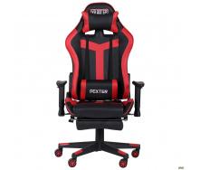 Компьютерное кресло AMF VR Racer Dexter Grindor черно-красный кожзам