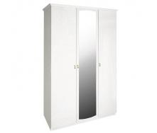 Шкаф Футура 3Д белый глянец Миро-Марк