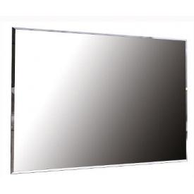 Зеркало Ники 90х60 дуб крафт + белый глянец Миро-Марк