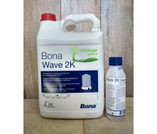 Двокомпонентний поліуретановий лак на водній основі Bona Wave 5 л