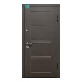 Вхідні двері Міністерство дверей ПО-29 Венге сірий горизонт 860х2050 мм