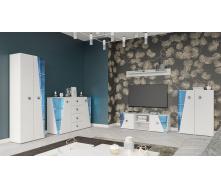 Гостиная Призма белый Мир мебели