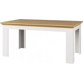 Стол обеденный раскладной Валерио сосна водевиль + дуб каменный Мир мебели