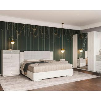 Спальня Вівіан 4Д аляска + моноліт Світ Меблів