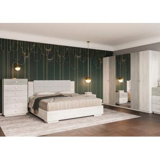 Спальня Вівіан 6Д аляска + моноліт Світ меблів